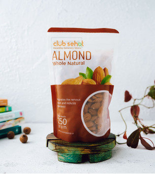 ALMOND WHOLE NATURAL 250 G