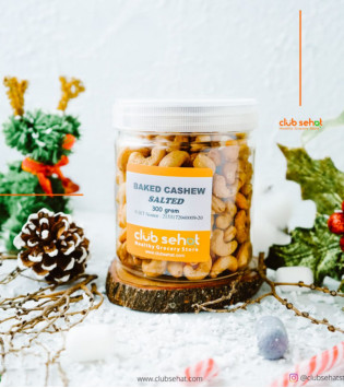 BAKED CASHEW SALTED 300 G