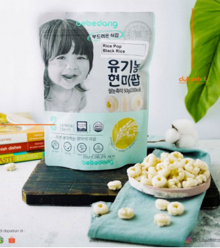 BEBEDANG ORGANIC RICE POP BLACK RICE 50 G