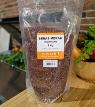 BERAS MERAH KUPAS KULIT 1 KG