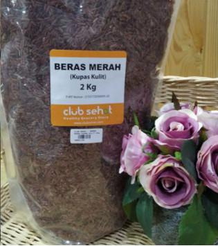 BERAS MERAH KUPAS KULIT 2 KG