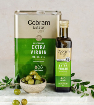COBRAM ESTATE EXTRA VIRGIN OLIVE OIL LIGHT 3 LT