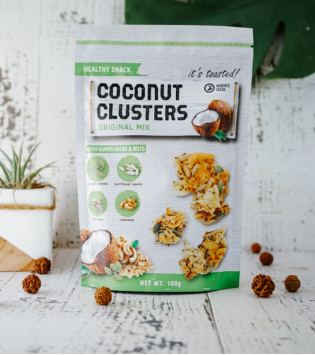 COCONUT CLUSTERS ORIGINAL MIX 100 G