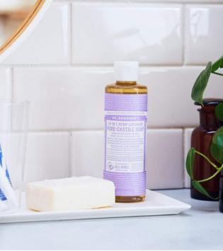 DR. BRONNER'S LAVENDER LIQUID SOAP 437 ML