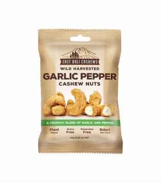 EAST BALI CASHEWS GARLIC PEPPER CASHEW NUTS 75 G