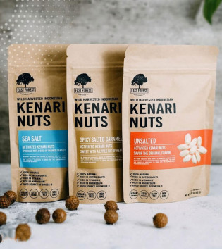EAST FOREST KENARI NUTS UNSALTED 80 G