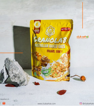 GRANOLAB ORIGINAL HONEY 210 G