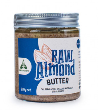 GREEN GURU RAW ALMOND COCONUT BUTTER 270 G