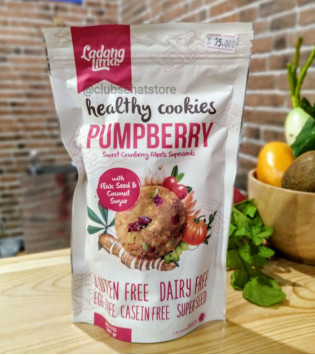 LADANG LIMA PUMPBERRY COOKIES 180 G
