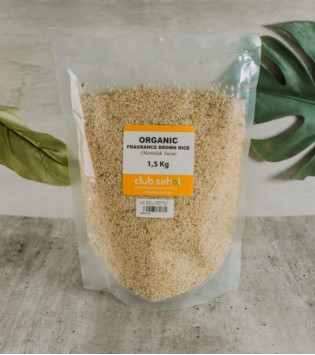 ORGANIC FRAGRANCE BROWN RICE 1,5 KG