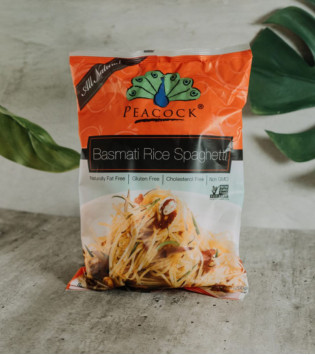 PEACOCK BASMATI RICE 200 G