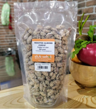 ROASTED ALMOND GARLIC 500 G