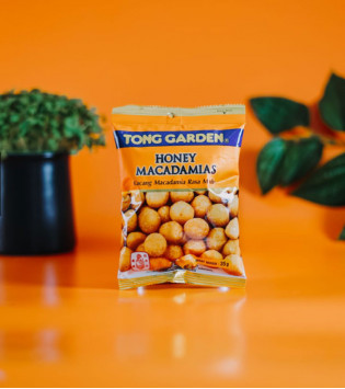 TONG GARDEN HONEY MACADAMIAS 40 G