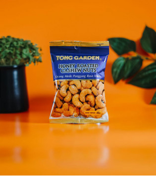 TONG GARDEN HONEY ROASTED CASHEW NUTS 40 G