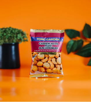 TONG GARDEN HONEY ROASTED CASHEW NUTS MIXED MACADAMIAS 35 G